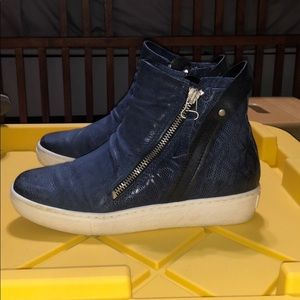 Miz Mooz Blue High Tops